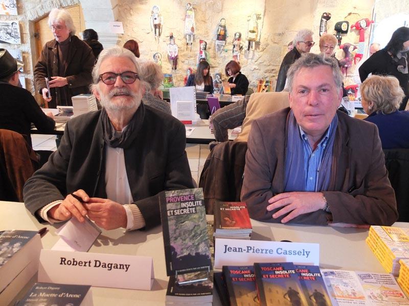 Signature à Trets La muette d'Arenc - Robert Dagany (2012)